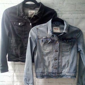 2 Mossimo Denim Jackets XL